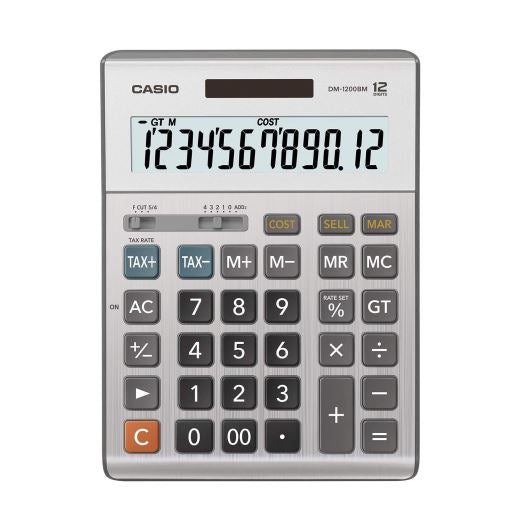 Calculadora de Escritorio DM-1200BM CASIO