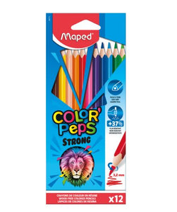 Lápices de coleres Color Peps Strong C/12 MAPED