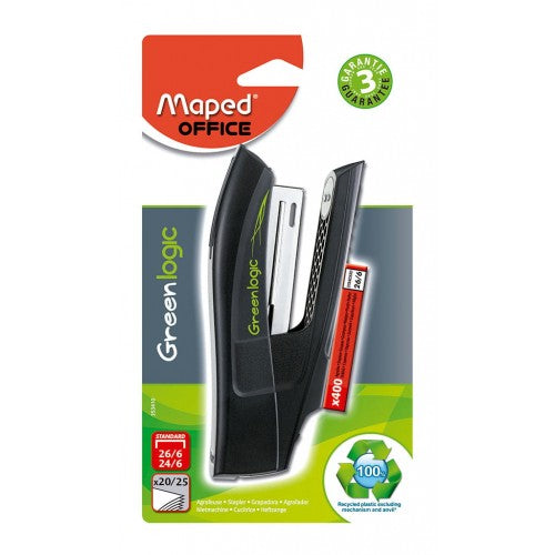 Engrapadora de Plástico Mediana Greenlogic Maped