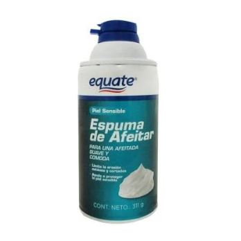 Equate Espuma de afeitar