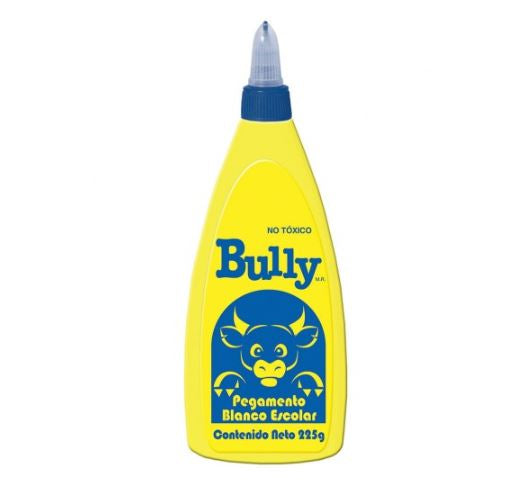 Pegamento blanco escolar 225g Bully