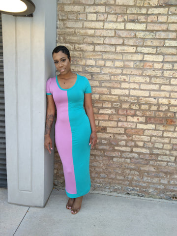 Shavvy Dress- Turquoise