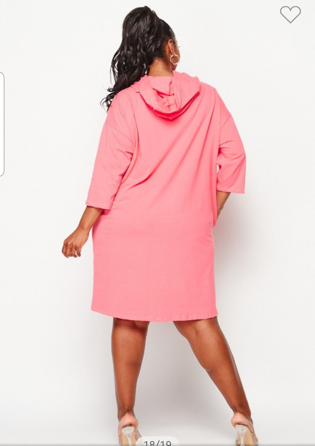 Fashion Runway Dress (coral) ships May 8th