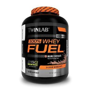 Twinlab 100% Whey Fuel Nutritional Shake, Double Chocolate, 5 lbs