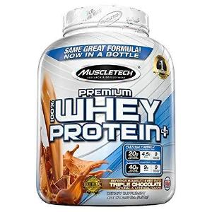Muscletech Premium 100% Whey Protein Plus - 2.27 kg (Triple Chocolate)