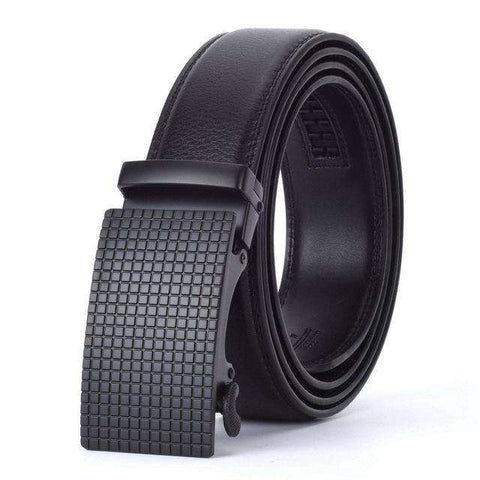 The Geess A / 110cm Men`s Fashion Designers Automatic Buckle Leather luxury Belts