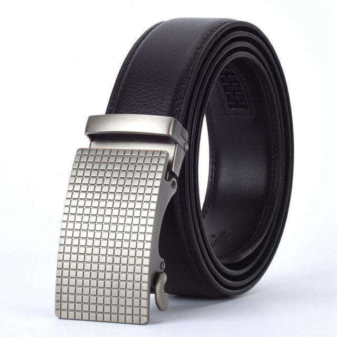 The Geess B / 110cm Men`s Fashion Designers Automatic Buckle Leather luxury Belts