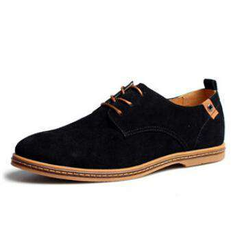 The Geess Black / 6.5 Men`s Casual Shoes size 38-48