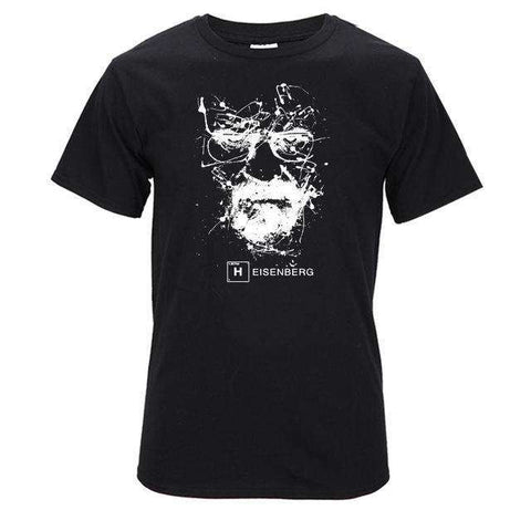 The Geess BLK / S Quality Cotton Heisenberg funny Men`s t shirt