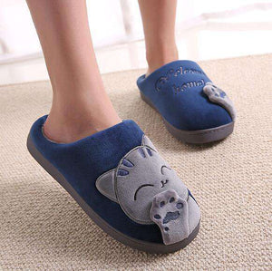 Cute Cat lover warm and cozy slippers