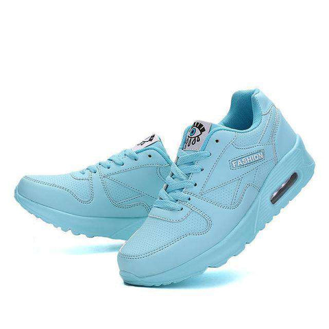 Image of The Geess blue / 5 Women`s Running Shoes from Size 5