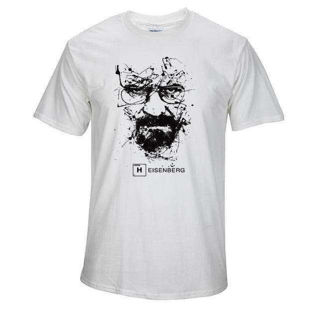 The Geess BS / S Quality Cotton Heisenberg funny Men`s t shirt
