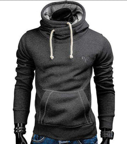 The Geess Dark gray / S Men`s Spring Fashion Hoodie Sweatshirt