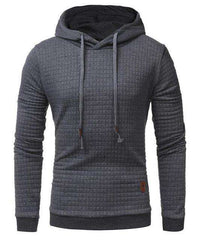 The Geess Dark Grey / 4XL Hoodies Men Long Sleeve Sweatshirt
