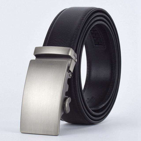 The Geess E / 110cm Men`s Fashion Designers Automatic Buckle Leather luxury Belts