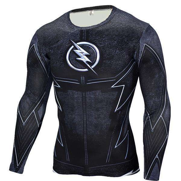 The Geess FlashBlack / Aisan S Marvel Superhero Long Sleeves Shirts