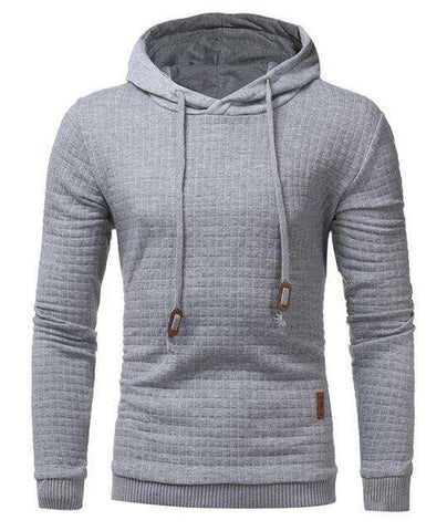 Image of The Geess Gray / 4XL Hoodies Men Long Sleeve Sweatshirt