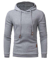 The Geess Gray / 4XL Hoodies Men Long Sleeve Sweatshirt