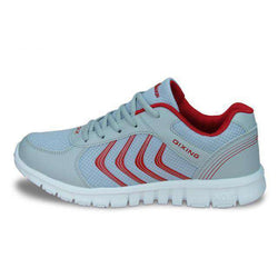 The Geess Gray Red / 11 Men`s Fitness Shoes