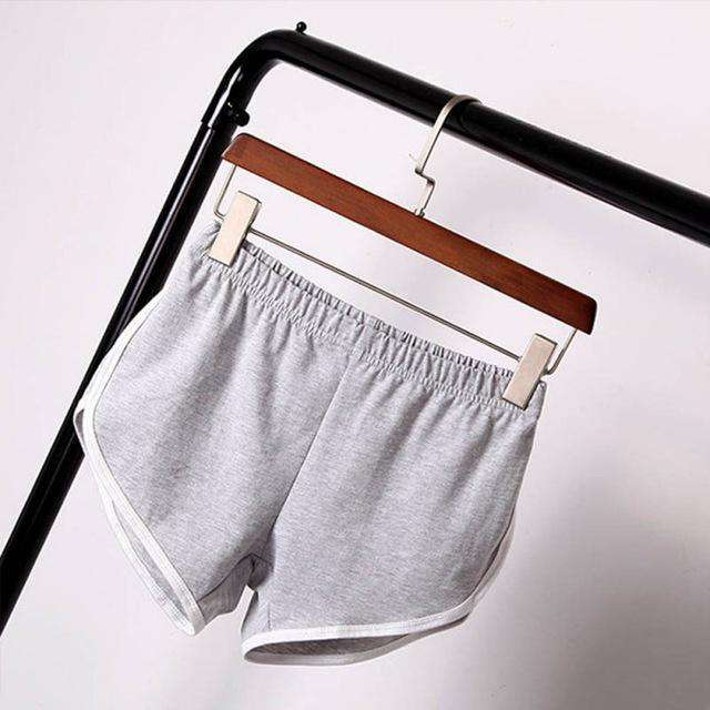 The Geess Gray / S / China Best selling summer shorts Women casual cotton shorts
