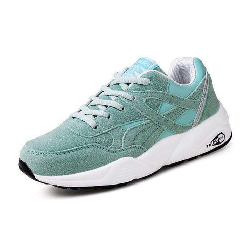 The Geess Green / 6 / China Womens Outdoor Sport Brand Light Running Shoes