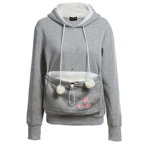 The Geess grey / S Cat Lovers Hoodies