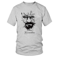 The Geess GREY / S Quality Cotton Heisenberg funny Men`s t shirt