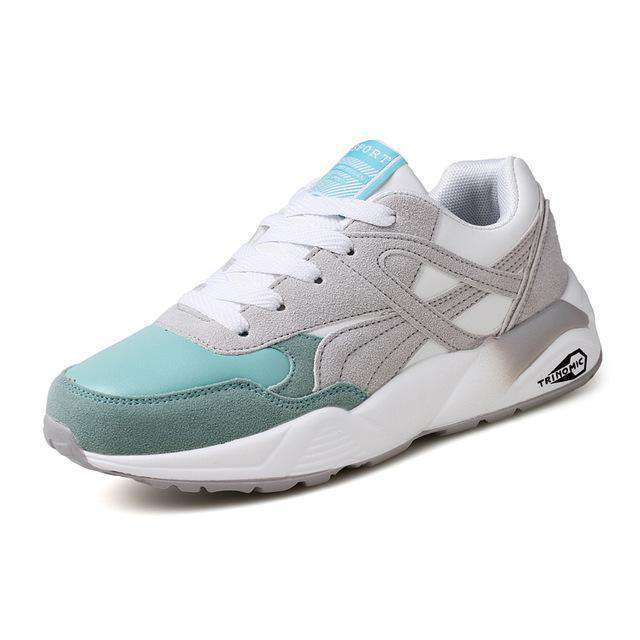 The Geess GreyGreen / 6 / China Womens Outdoor Sport Brand Light Running Shoes