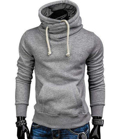 The Geess Light gray / S Men`s Spring Fashion Hoodie Sweatshirt