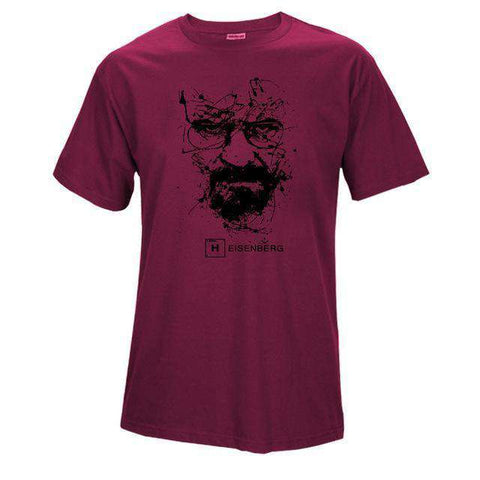The Geess LS 1 / S Quality Cotton Heisenberg funny Men`s t shirt
