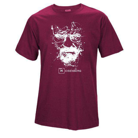 The Geess LS / S Quality Cotton Heisenberg funny Men`s t shirt
