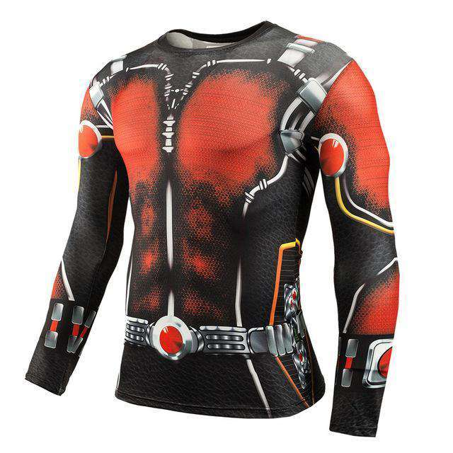 The Geess Marvel Superhero Long Sleeves Shirts