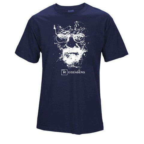 The Geess NAV / S Quality Cotton Heisenberg funny Men`s t shirt