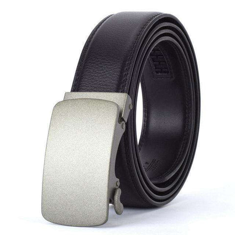 The Geess O / 110cm Men`s Fashion Designers Automatic Buckle Leather luxury Belts