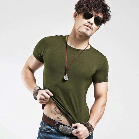 Image of The Geess O Amy Green / L Men`s V Neck T Shirt