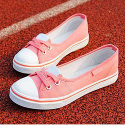 The Geess Pink / 4 Women Shoes Ballet Flats Loafers Casual Breathable Women Flats Slip On Fashion