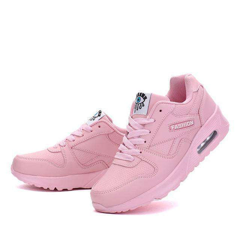 Image of The Geess pink / 5 Women`s Running Shoes from Size 5