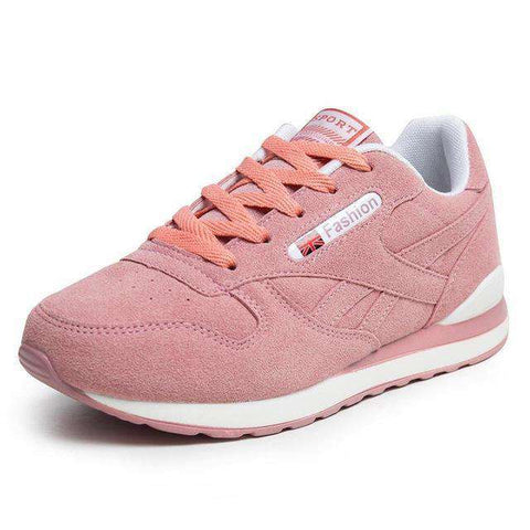 Image of The Geess Pink / 6 / China Womens Outdoor Sport Brand Light Running Shoes