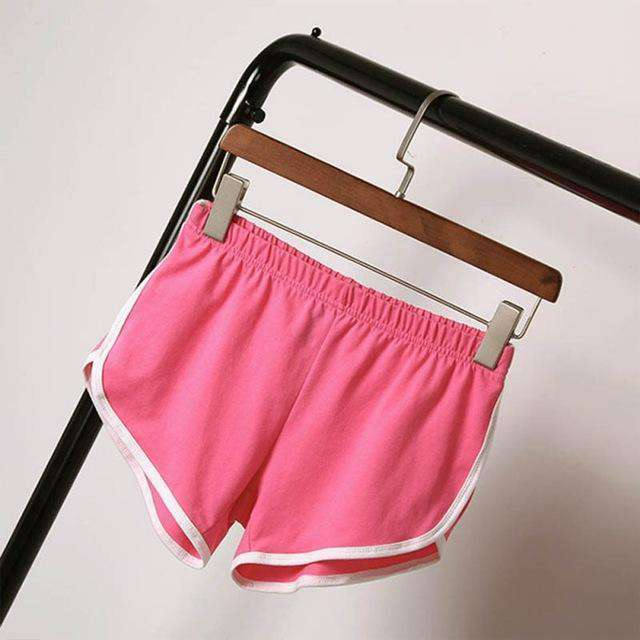 The Geess Pink / S / China Best selling summer shorts Women casual cotton shorts