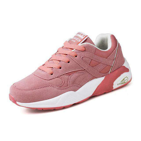Image of The Geess Pink2 / 6 / China Womens Outdoor Sport Brand Light Running Shoes