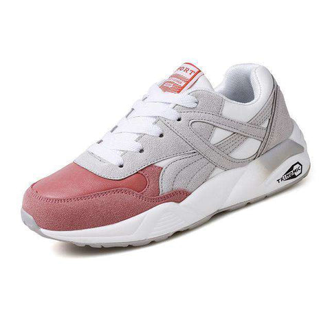 Image of The Geess PinkGrey / 6 / China Womens Outdoor Sport Brand Light Running Shoes