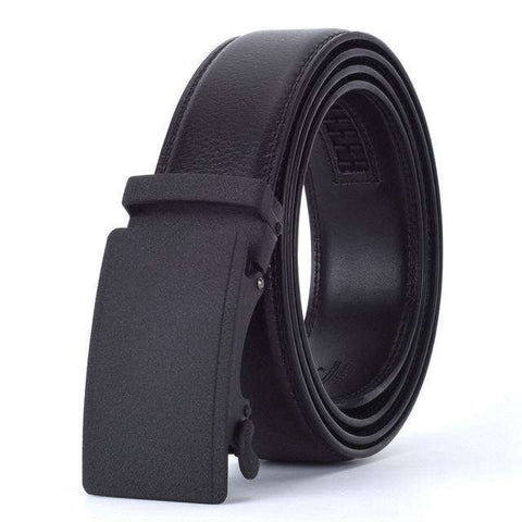 The Geess R / 110cm Men`s Fashion Designers Automatic Buckle Leather luxury Belts