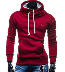 The Geess red / S Men`s Spring Fashion Hoodie Sweatshirt