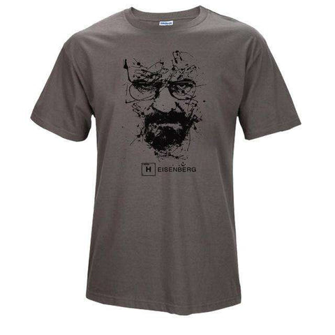 The Geess TS / S Quality Cotton Heisenberg funny Men`s t shirt