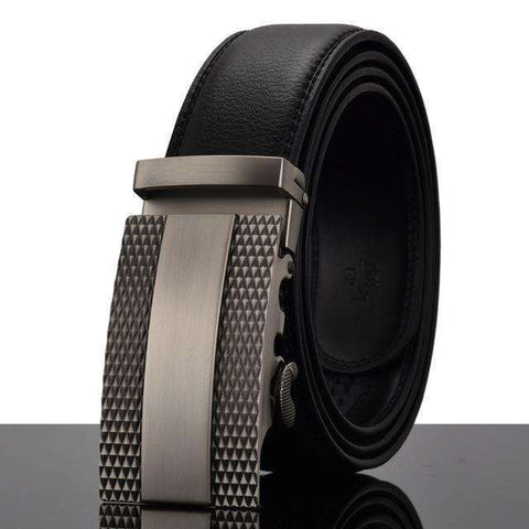 The Geess W / 110cm Men`s Fashion Designers Automatic Buckle Leather luxury Belts