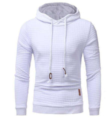 The Geess White / 4XL Hoodies Men Long Sleeve Sweatshirt