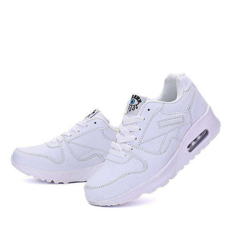 Image of The Geess white / 5 Women`s Running Shoes from Size 5