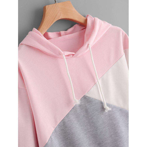 The Geess Women`s Long Sleeve Hooded Sweatshirt