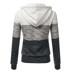 The Geess Women`s Spring Hooded Long Sleeve Sweatshirt