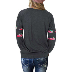 The Geess Women`s Sweatshirt Pullover Casual Top